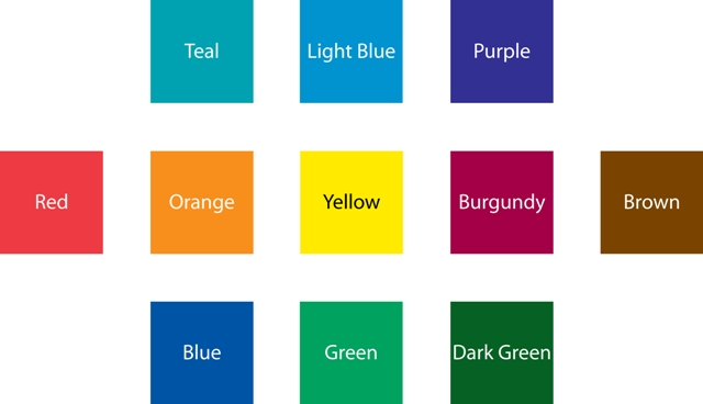 These Colors May Appear Different On Your Monitor Depending Calibration Quick Copy Print Center Cannot Be Responsible For Color Variation The