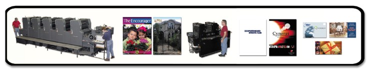 Printing press, color and black and white printing